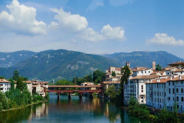 Мост Альпийских стрелков (Ponte degli Alpini)