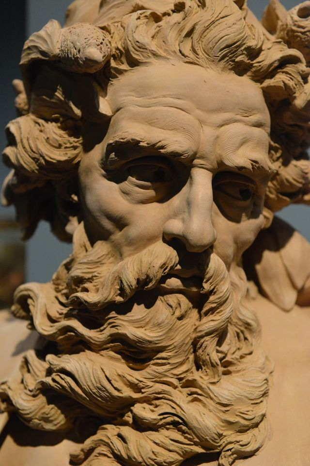 Скульптурный набросок для фонтана Треви