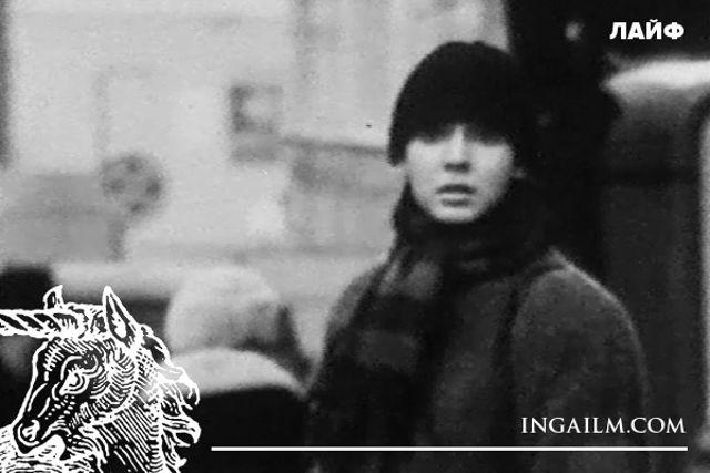 Инга Ильм. Кадр из кинофильма «Чайка»