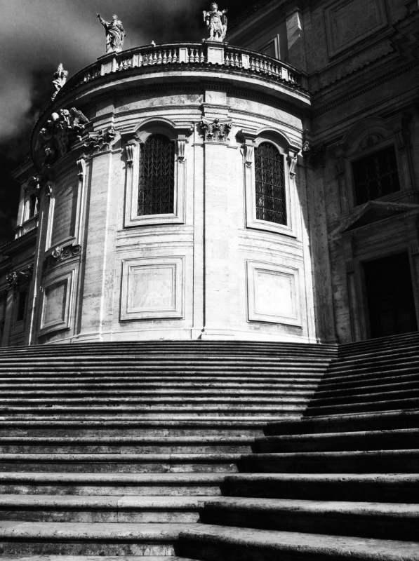 Апсида церкви Санта Мария Маджоре