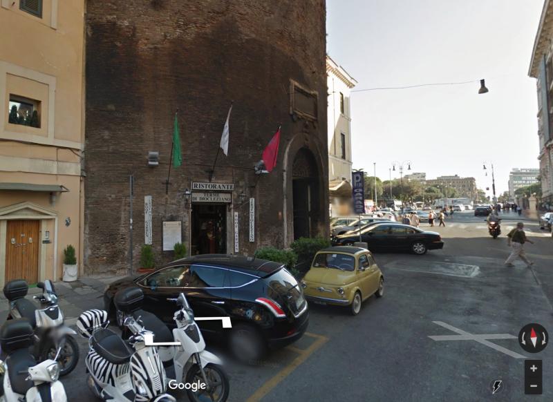 Ресторан Ristorante Terme di Diocleziano