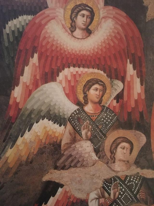 Деталь фрески Страшный суд