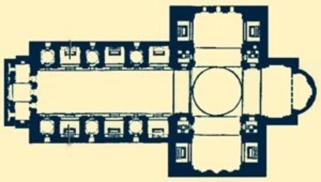 План базилики