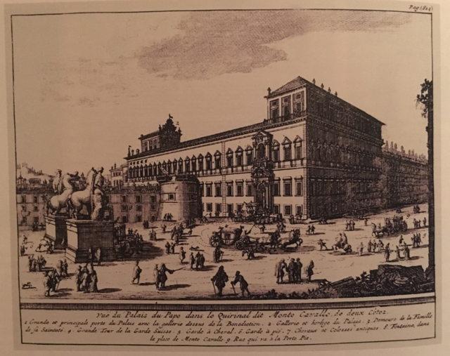 Вид на папскую резиденцию