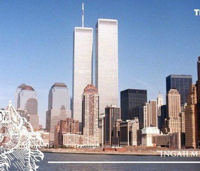 Нью-Йорк - башни близнецы