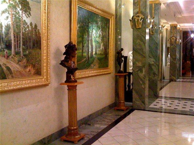 холл отеля Европа