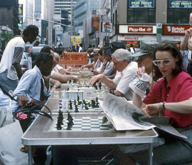 Нью-Йорк - шахматы