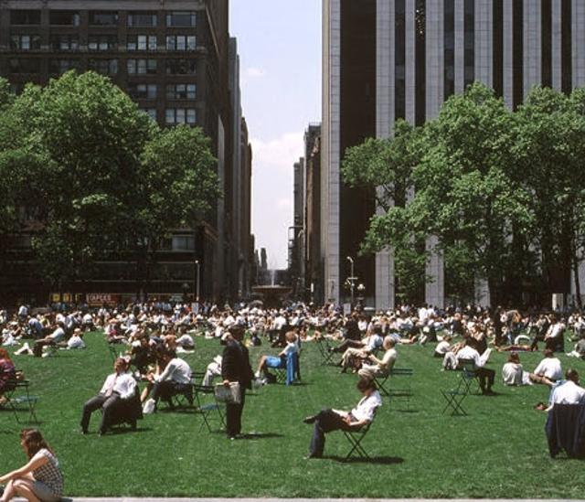 Нью-Йорк - парк