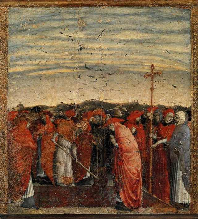 Основание храма Святой Марии