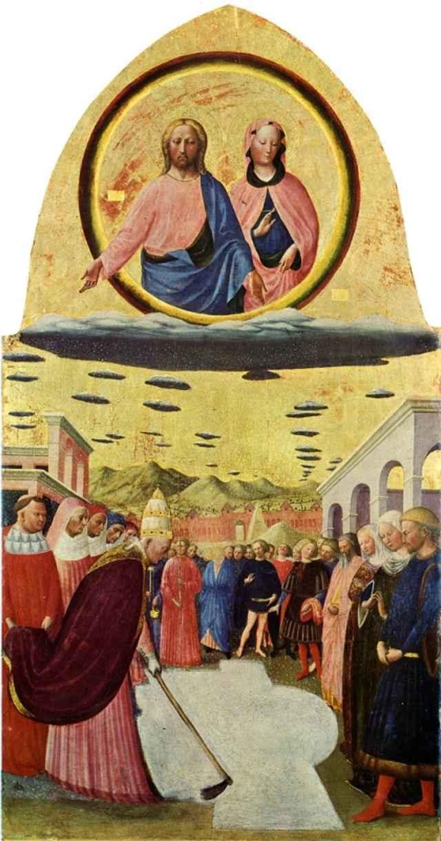 Основание церкви Санта-Мария-Маджоре