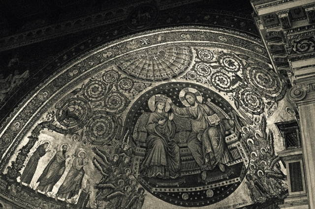Мозаика апсиды