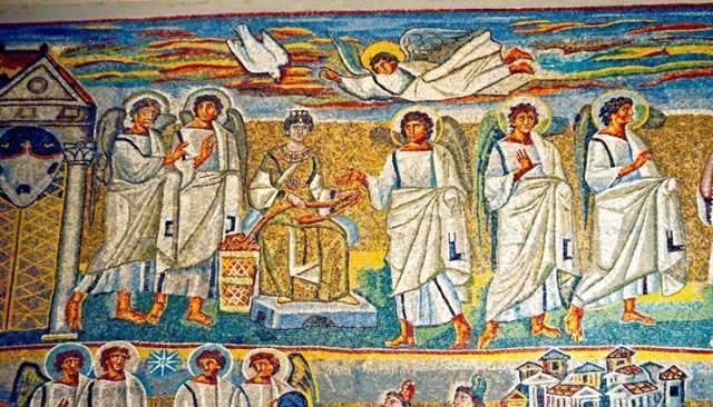 Мозаика триумфальной арки