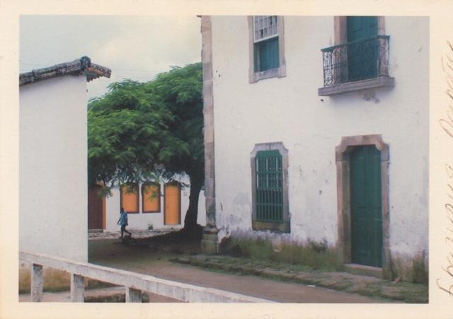 Улицы города Парати