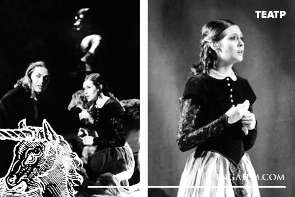 Сцены из спектакля «Дубровский»