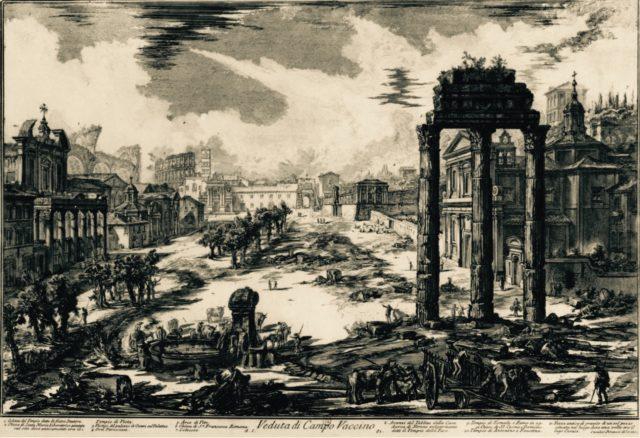 Вид Римского форума