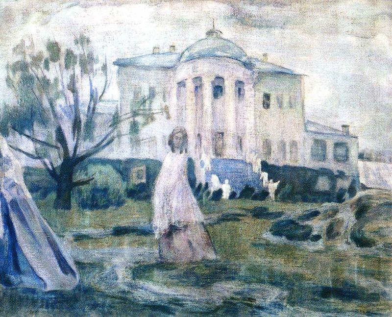 художник Виктор Эльпидифорович БОРИСОВ-МУСАТОВ (1870-1905 ) / «Призраки»