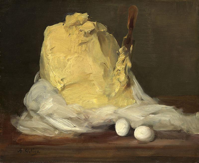 художник Антуан ВОЛЛОН (1833-1900) / «Кусок масла»