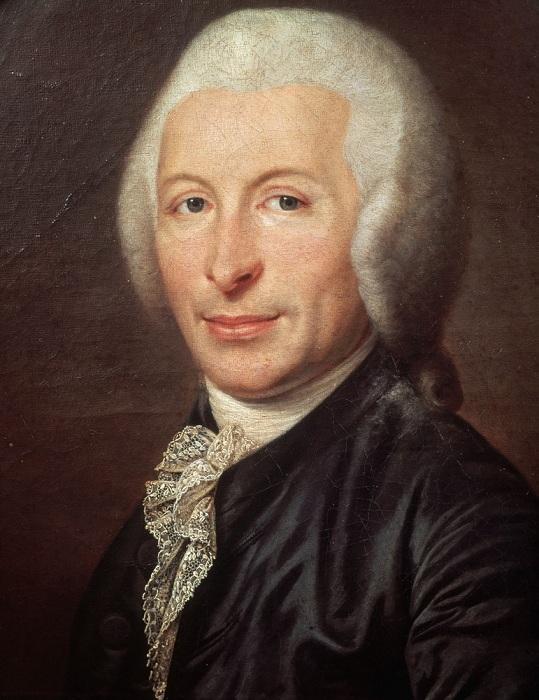 Unknown / «Портрет доктора Жозефа Гильотена» /ок.1784
