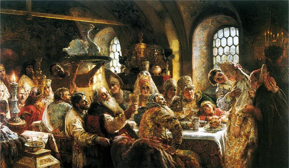 Боярский свадебный пир