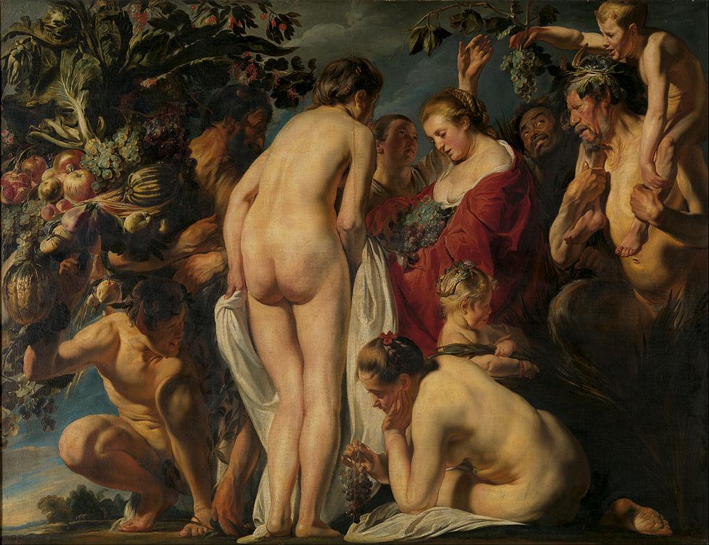 художник Якоб ЙОРДАНС (1593-1615) / «Аллегория Изобилия»