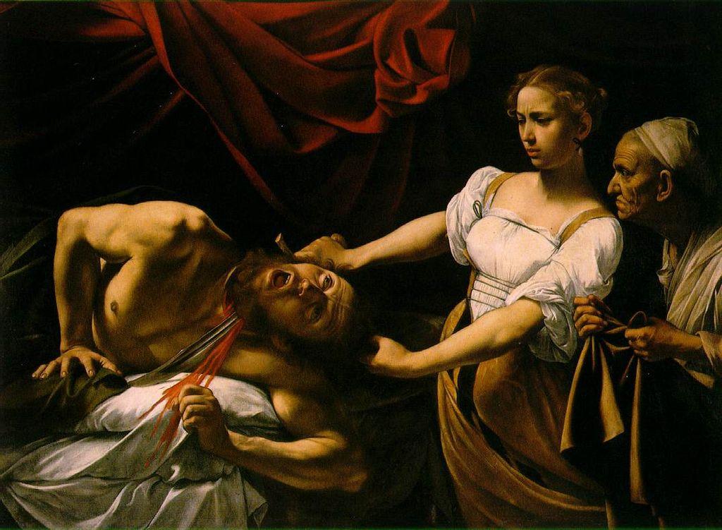 Караваджо / «Юдифь и Олоферн» / 1599