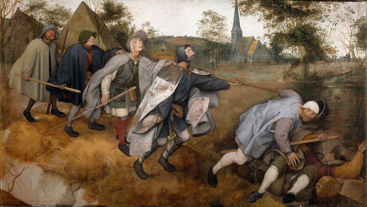 художник Питер БРЕЙГЕЛЬ (Старший) (1525-1569) / «Притча о слепых»