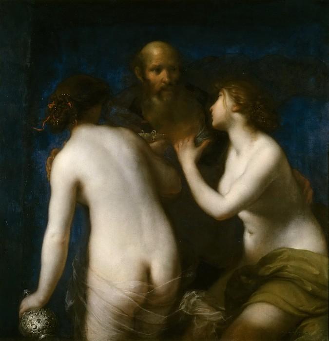 Франческо Фурини / «Лот с дочерьми» / 1635