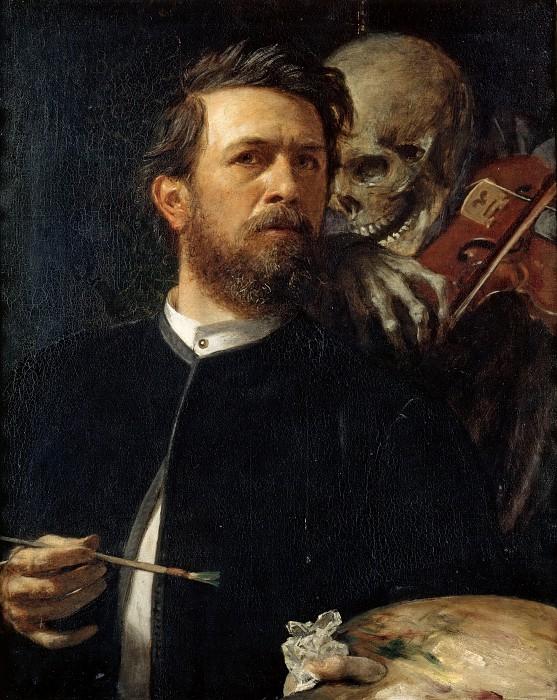 Автопортрет со Смертью, играющей на скрипке