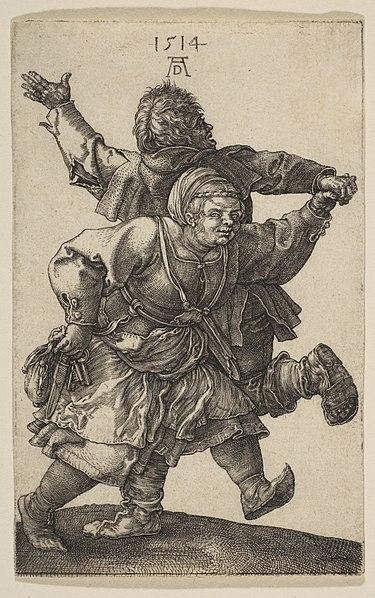 Танец крестьянской пары