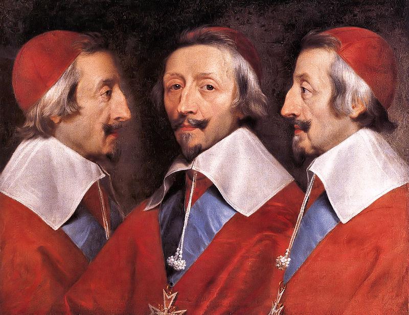 Тройной портрет кардинала Ришельё