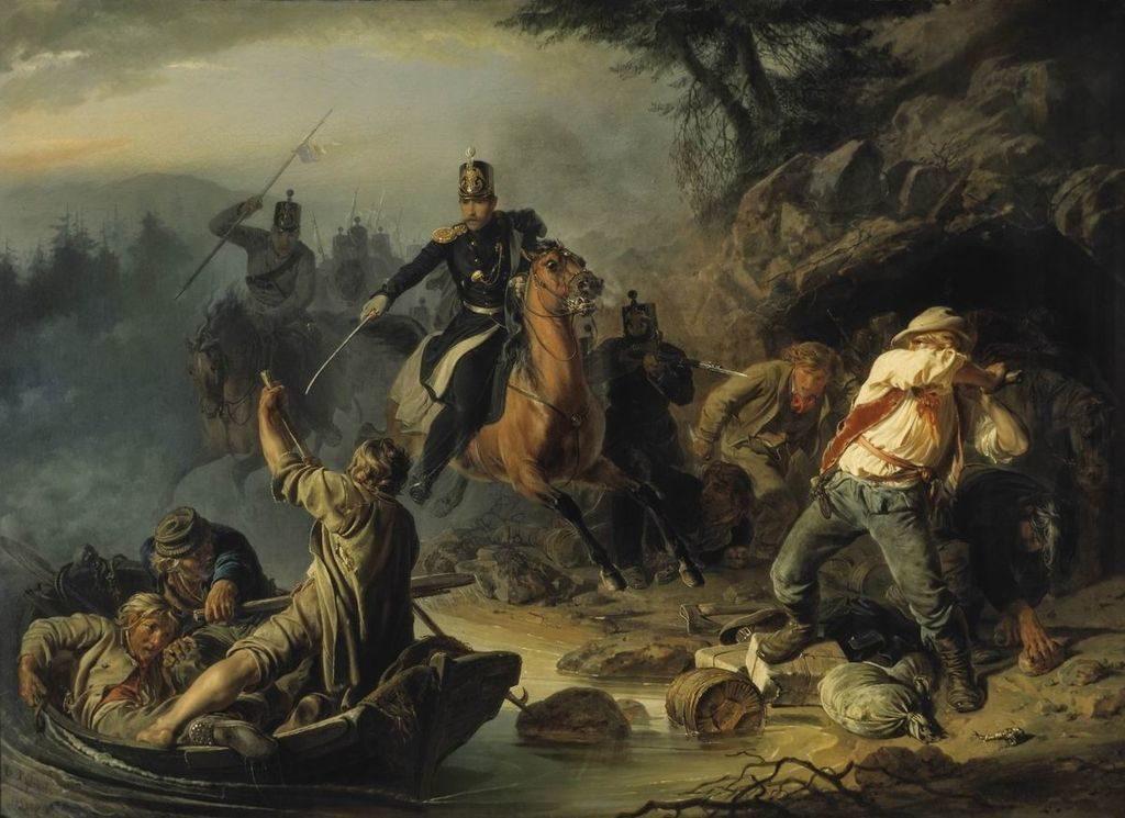 Стычка с финляндскими контрабандистами