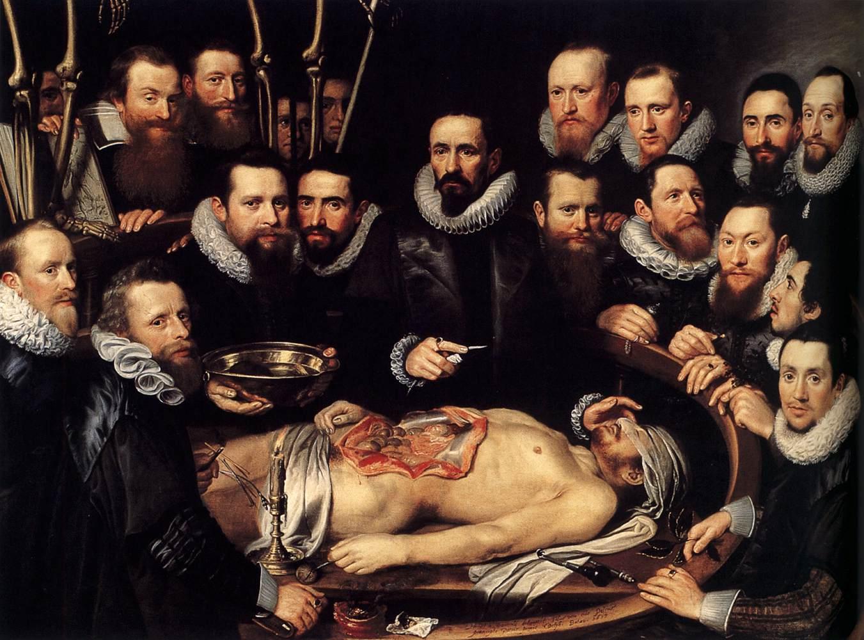 Урок анатомии доктора Виллема ван дер Меер