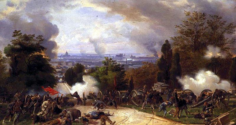 Последний бой на кладбище Пер-Лашез 27 мая 1871 года