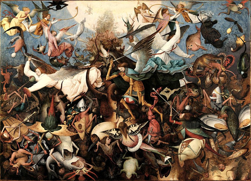 Питер Брейгель Старший / «Падение мятежных ангелов» / 1562