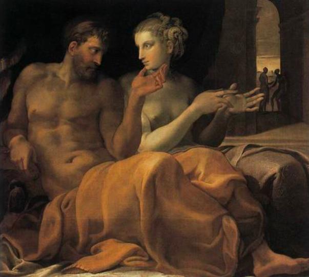 Одиссей и Пенелопа