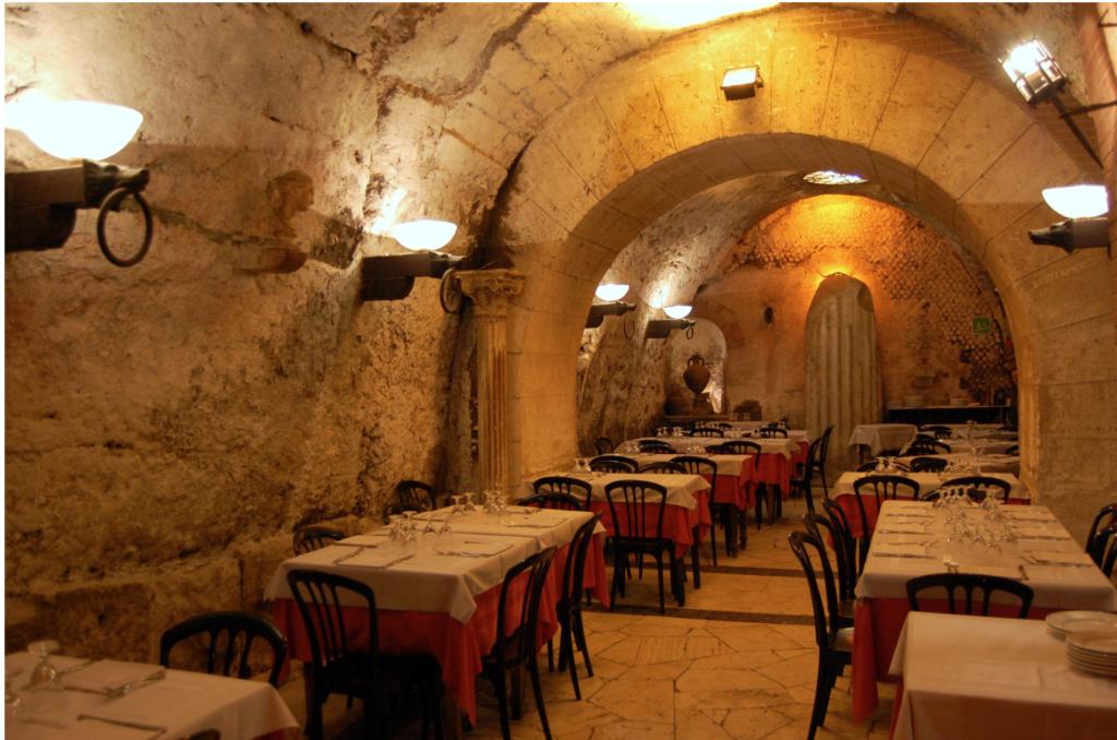 Интерьер ресторана Da Pancrazio