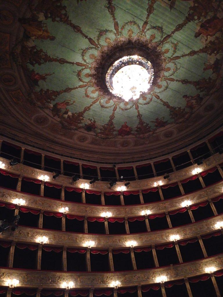 Театр Торре Арджентина. Зрительный зал