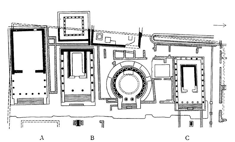 Комплекс храмов на Ларго Арджентина