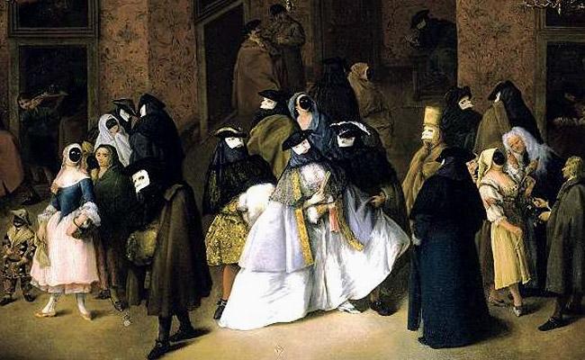 Пьетро Лонги / «Ридотто» (Вечер музыки и танцев в Венеции) / 1751