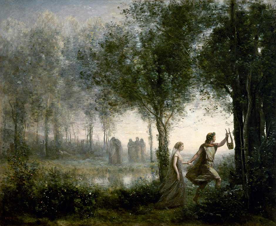 Орфей выводит Эвридику из преисподней