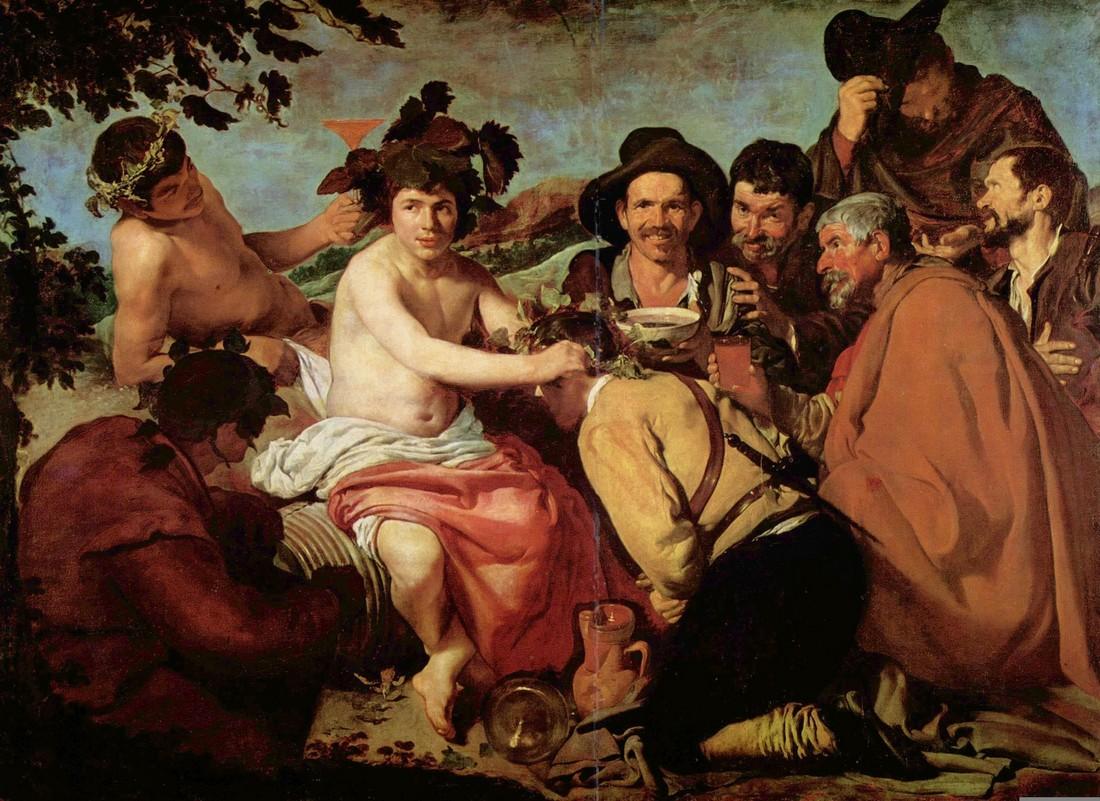 Диего Веласкес / «Триумф Вакха» / 1629