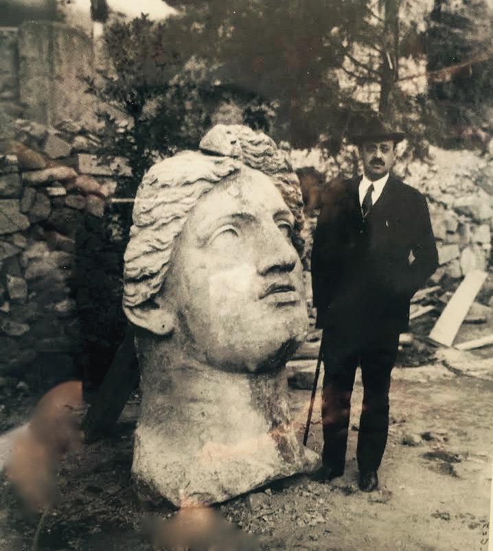 Раскопки на площади Торре Арджентина