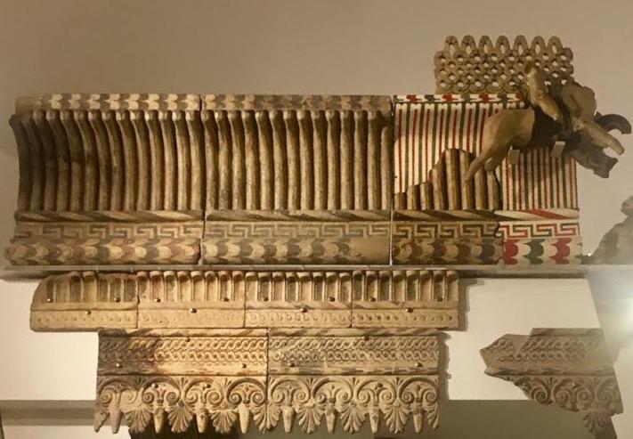 Карниз этруского храма