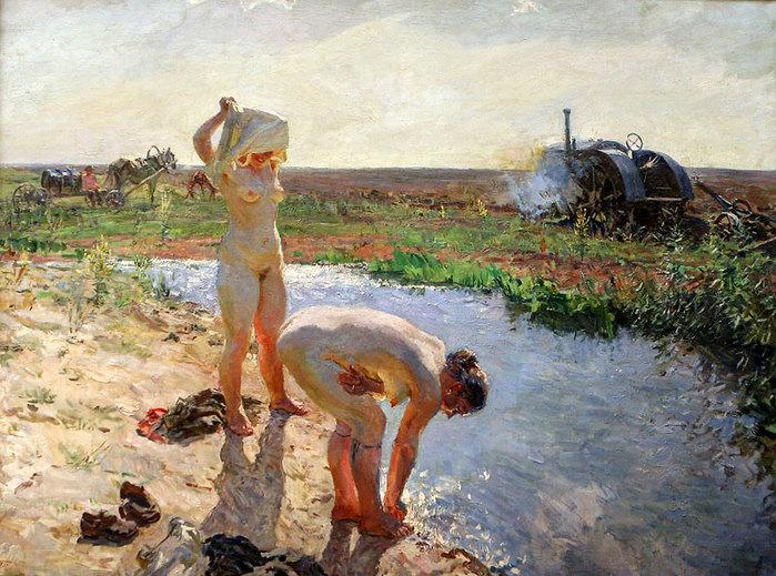 Трактористки