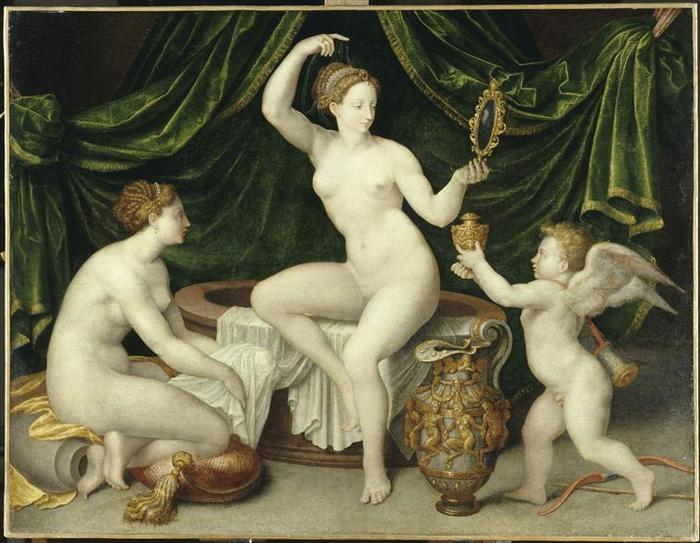 Vénus à sa toilette