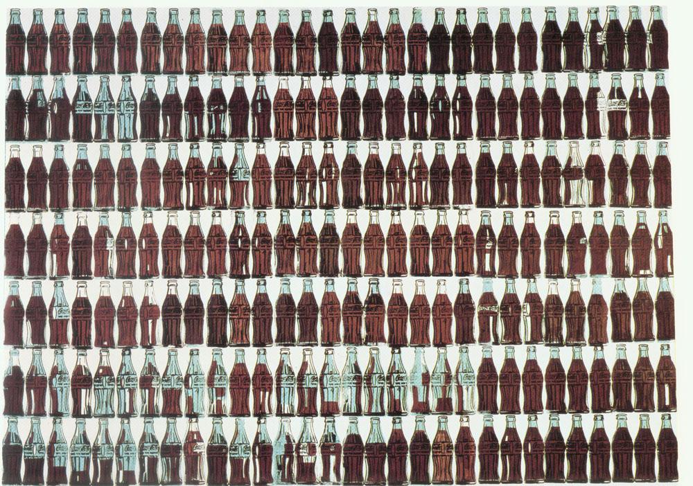 Энди Уорхол / «Green Coca Cola Bottles» / 1962