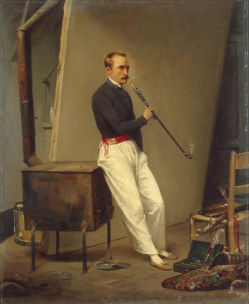 художник / дипломат Орас ВЕРНЕ (1789-1863) / «Автопортрет»