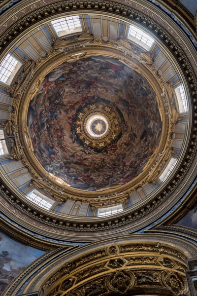 Купол церкви Санта-Агнесса-ин-Агони