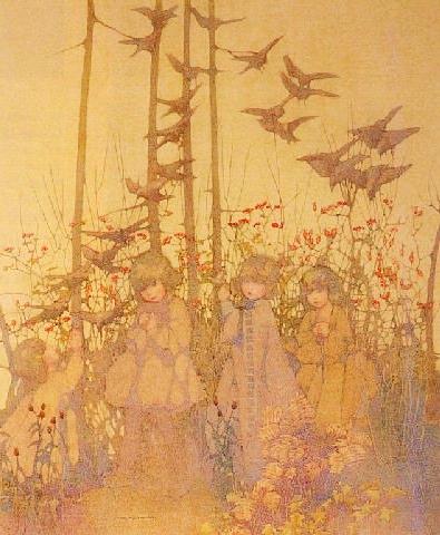 художница Нора ГРЕЙ (1882-1931) / «Четыре сестры»