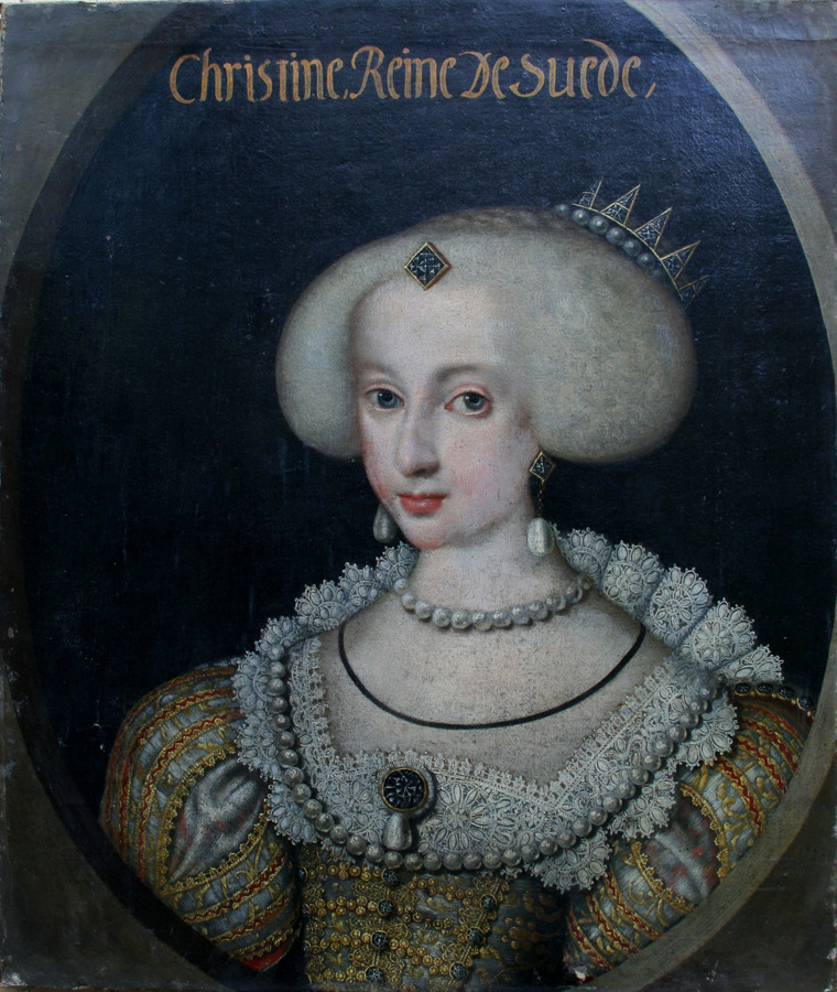 Портрет королевы Швеции Кристины в детстве